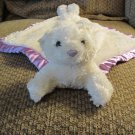 My Banky February Birthstone Small Teddy Bear Security Blanket Lovey Plush