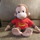 Applause Russ Berrie Kohls Cares Curious George Monkey Red Shirt 16""