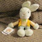 "WT Vintage 1981 Applause Knickerbocker #7847 Paxton Plaid Pants Vested Bowtie Bunny Rabbit Plush 8"""