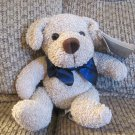 "WT Dakin Applause Terry Critters Tucker Cream Puppy Lovey Puppy Dog Plush 8"""