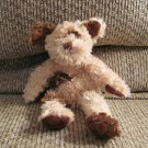 Old Navy Tan Brown Long Leg Spotted Furry Soft Puppy Dog Lovey Plush 10""