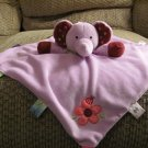 2012 Kids II Taggies Purple Polka Dots Pink Flower Ladybug Rattle Elephant Lovey Security Blanket
