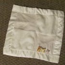 Disney Classic Pooh Winnie The Pooh Taggies My First Friends Cream Striped Security Blanket