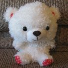 Hallmark VTD1545 Red XOXO White Teddy Bear Lovey Plush 7""