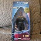 NBO Vintage 1997 Playmates Paramount Pictures Star Trek Collector Series #007357 Lt Tuvok