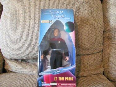 NBO Vintage 1997 Playmates Paramount Pictures Star Trek Collector Series #001472 Lt Paris