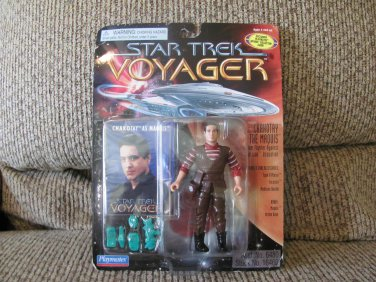 NBO Vintage 1996 Playmates Paramount Pictures Star Trek Voyager Stock #16466 Chakotay Maquis