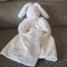 Bunnies By The Bay White Off White Bunny Rabbit Best Friends Indeed Carrots Security Blanket