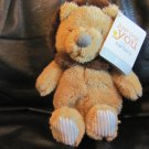 """WT 2015 Carters Just One You Tan Brown Krinkle Mane Feet Rattle Lion Lovey Plush 9"""""""