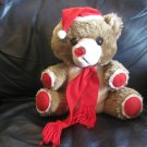 Vint House Of Lloyd CATW 54-017 Plush Musical Bear Teddy Light Up Nose Lovey 11""