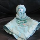 2004 Prestige Toy Corp Care Bear Bedtime Star Moon Ring Aqua Lovey Security Blanket