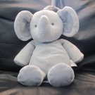 Carters Just One You Gray Blue Elephant  #92898 Musical Crib Pull Toy 12""