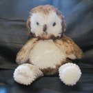 Scentsy Buddy Oakley The Owl Fluffy Corduroy Brown Tan Lovey Plush 13""
