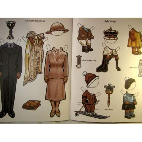 CHUCK AND DI HAVE A BABY PAPERDOLL BOOK NRMT