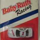 BABY RUTH #1 DIECAST RACING CAR, WHITE IN 1/64th SCALE.