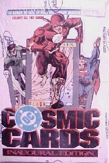 DC Comics Cosmic Cards Inaugural Edition Sealed Case.