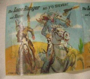 THE LONE RANGER & TONTO FLASHER CARD PREMIUM?