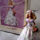 HALLMARK 1995 EASTER SPRINGTIME BARBIE ORNAMENT #1