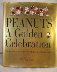 PEANUTS A GOLDEN CELEBRATION HARDBACK STORY OF SCHULZ