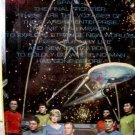 STAR TREK ENTERPRISE CREW METAL COUNTER POSTER!