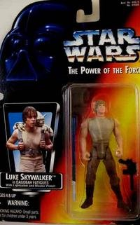 VINTAGE LUKE SKYWALKER FIGURE FROM STAR WARS MIP