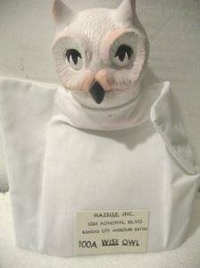 WHITE OWL HANDPUPPET BY HAZELLE MARIONETTES MINT