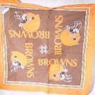 CLEVELAND BROWNS TEAM ORANGE FLAG! MINT FREE SHIPPING