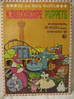 1968 SID & MARTY KROFFTs KALEIDOSCOPE PUPPETS
