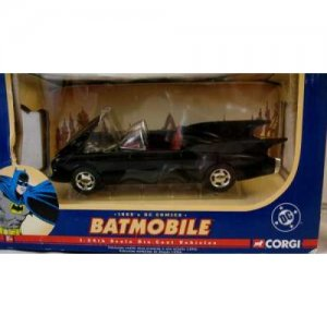 1960s Style  DC Comics Batmobile by Corgi, MIB-FREE USA SHIPPING!!