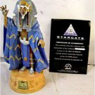 Stargate&#39;s RA collectible figurine by Applause. This figure is about 9 inches