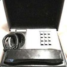 Vintage Deco–Tel  General Electric executive SPY style telephone faux wood box