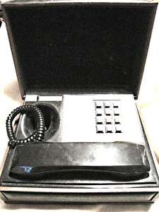 Vintage Deco�Tel  General Electric executive SPY style telephone faux wood box