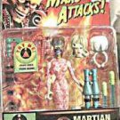 Mars Attacks talking Martian Spy Girl w/ eyeball ring mint sealed original card!
