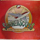 EXTREMELY RARE 1983 Frontier Airlines Summer Scapes Game, NRMIB advertising game