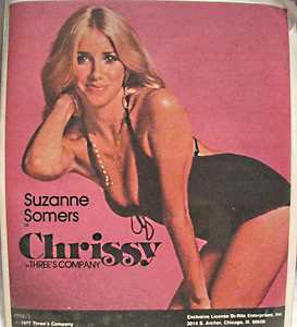 Suzanne Somers as Chrissy Snow in Three's Company TV show FREE USA SHIPPING NOW!