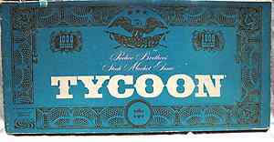 Vintage 1964 Parker Brothers Stock Market Game Tycoon good condition nr complete