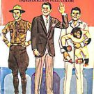 Ronald Reagan Paper Dolls playset book by Tom Tierney FREE USA SHIPPING!!