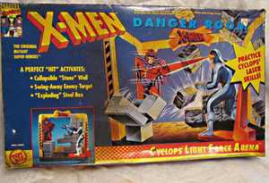 X-Men Danger Room Playset by Toy Biz,MIB, for use with all 4 inch action figures