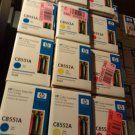 HP 9500 Color LaserJet Print Cartridge Set - Genuine HP Sealed