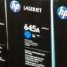 HP C9731A (645A) Color LaserJet Cyan Print Cartridge Genuine HP Sealed