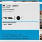 GENUINE HP C9730A (645A) Color LaserJet Black Print Cartridge Genuine HP Sealed