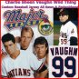 Charlie Sheen Cleveland Indians Vaughn 99 Baseball Jersey Small