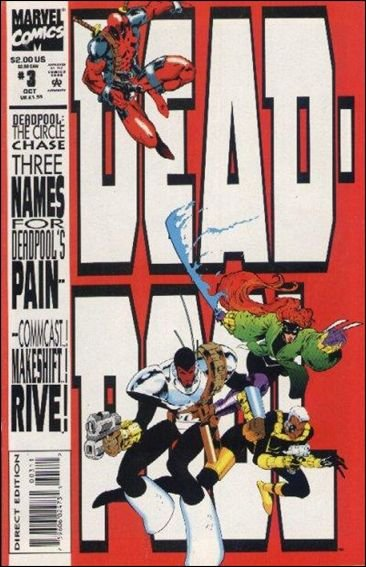 Deadpool The Circle Chase #3 VF/NM