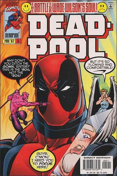 Deadpool #5 VF/NM