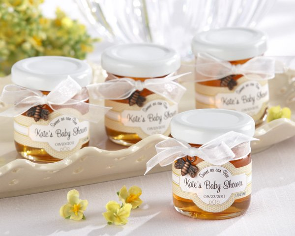 """Sweet as Can Bee"" Personalized Clover Honey (Set of 12) - 2 Set Minimum Order Required)"