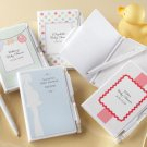 """Noteworthy Arrival"" Personalized Journal and Pen (Set of 12)"