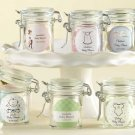 Personalized Glass Favor Jars - Baby (Set of 12)