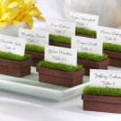"""Evergreen"" Window Planter Place Card/Photo Holder (Set of 4)"