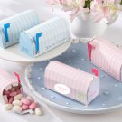 """Special Delivery"" Personalized Mailbox Favor Box (Pink) (Set of 24)"