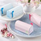 """Special Delivery"" Personalized Mailbox Favor Box (Blue) (Set of 24)"